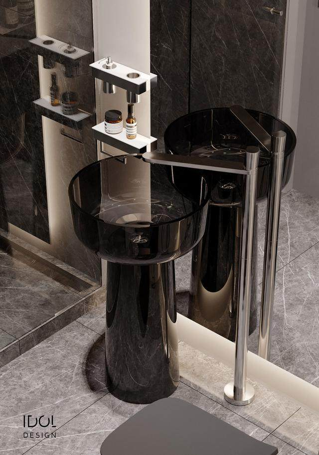 大理石成豪华住宅标配,149平的公寓也能散发奢华与品味-31.jpg