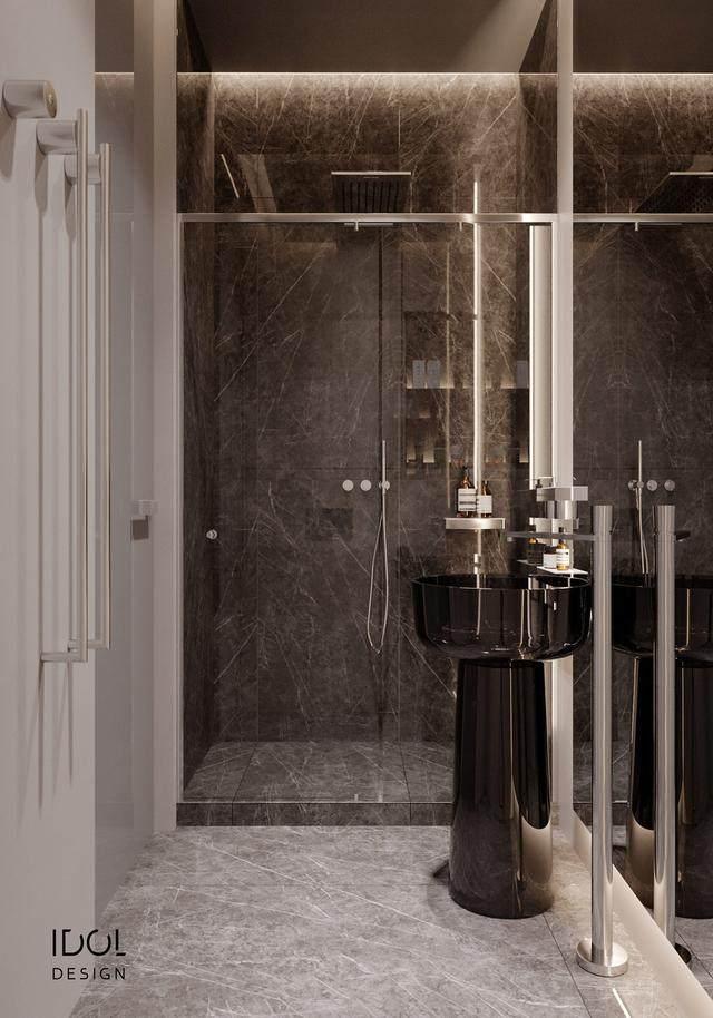 大理石成豪华住宅标配,149平的公寓也能散发奢华与品味-33.jpg