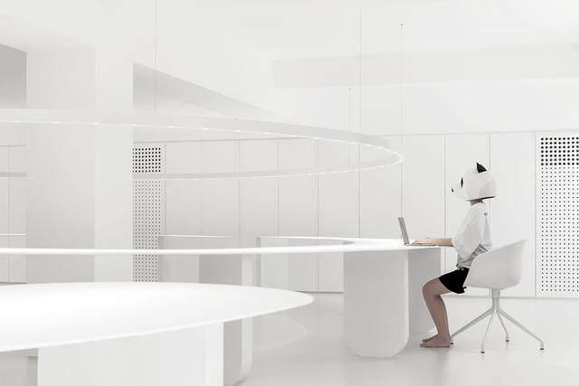 凝心聚力 寸匠熊猫建築設計厦门办公設計欣赏-4.jpg