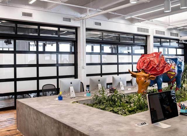 布鲁克林工业风 美国?What If! Innovation纽约办公設計欣赏-2.jpg