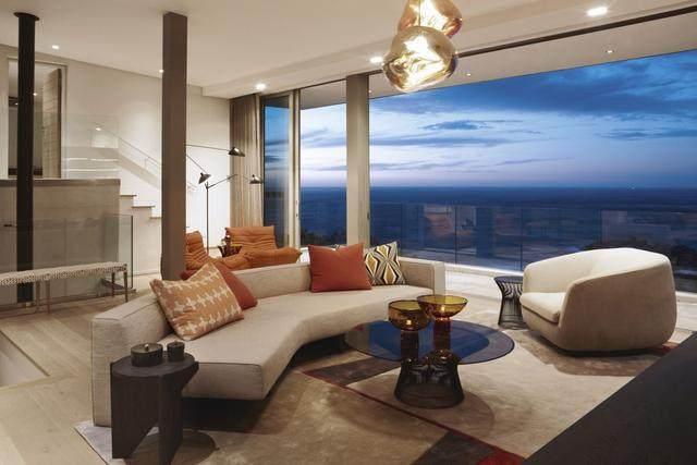 被壮丽景色包围的开普敦豪华住宅,与自然结合的现代新鲜感-1.jpg