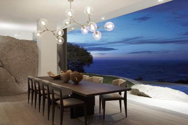 被壮丽景色包围的开普敦豪华住宅,与自然结合的现代新鲜感-3.jpg