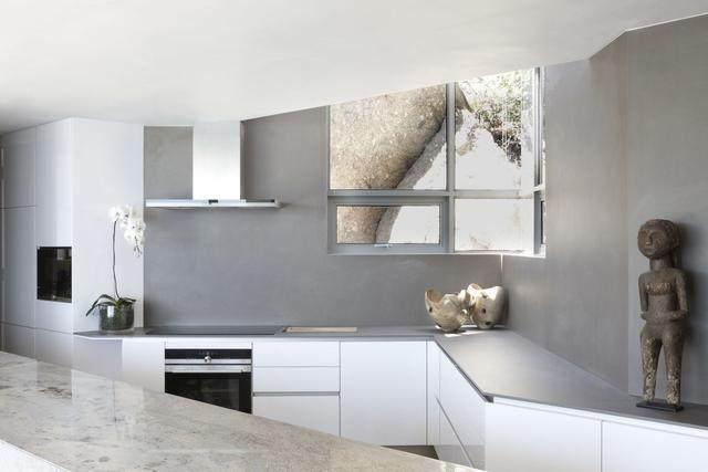 被壮丽景色包围的开普敦豪华住宅,与自然结合的现代新鲜感-10.jpg