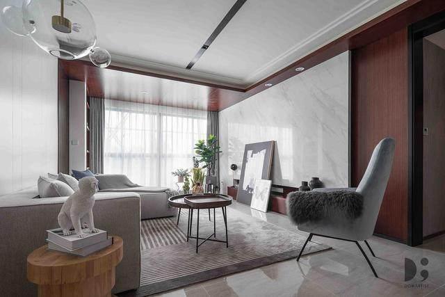 现代简约风住宅空间,涌动的静谧 | 龙徽設計-2.jpg