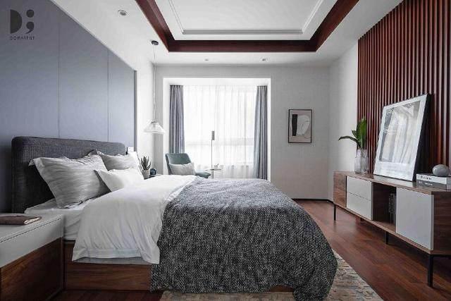 现代简约风住宅空间,涌动的静谧 | 龙徽設計-8.jpg
