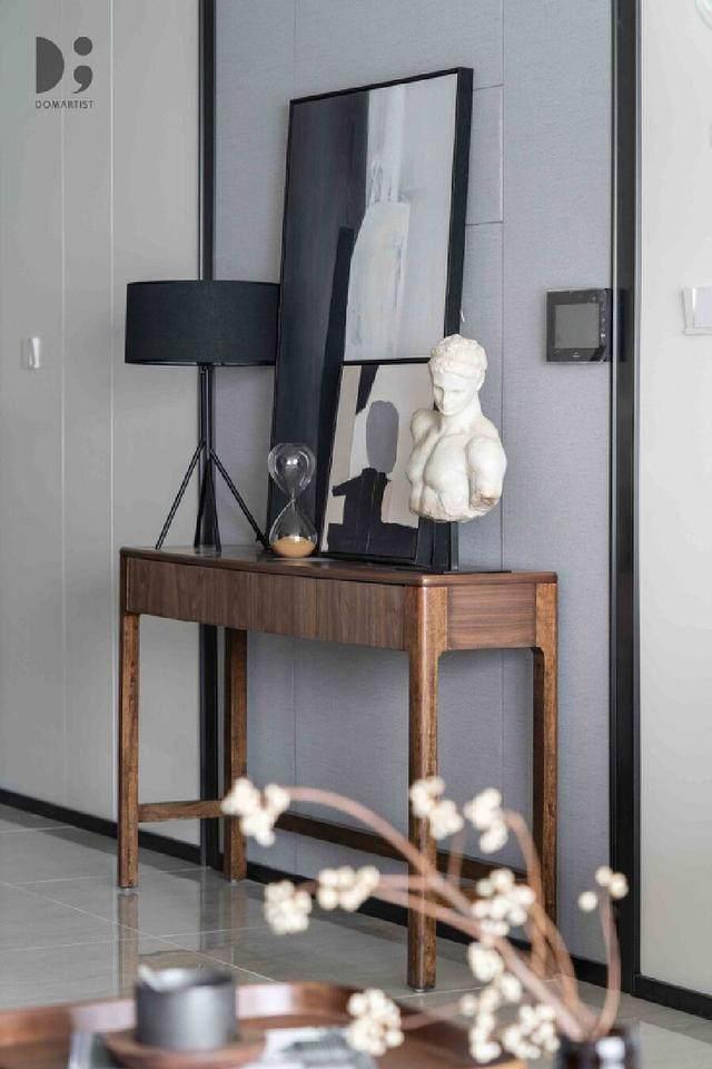 现代简约风住宅空间,涌动的静谧 | 龙徽設計-9.jpg