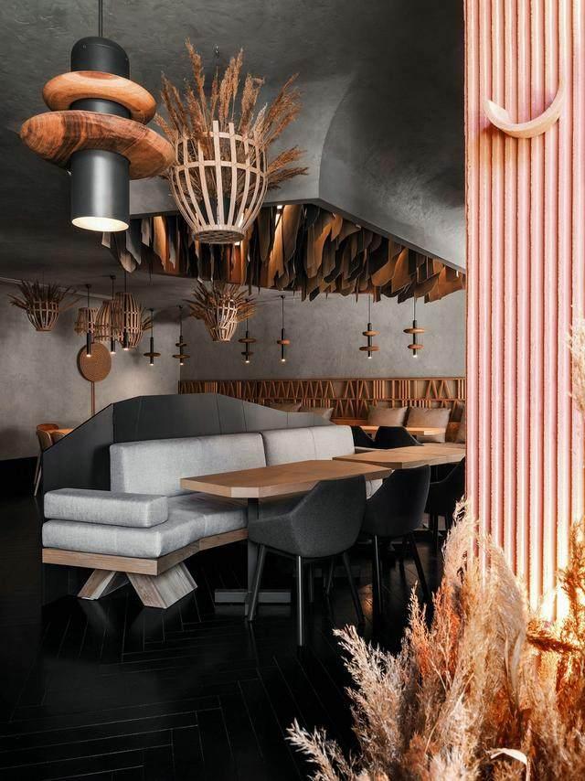 """极具特色的餐饮空间空间 -""""枯木""""艺术的魅力-15.jpg"""