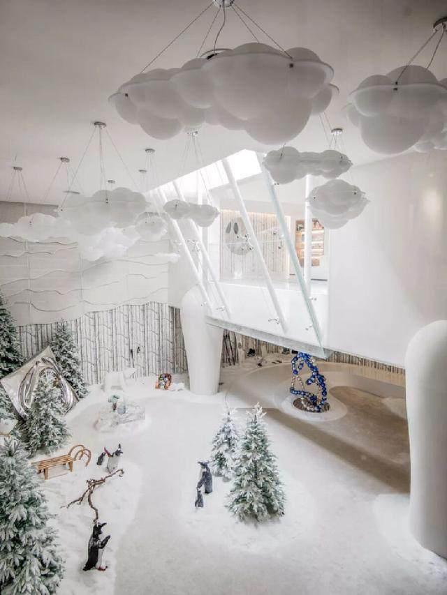 北京首创远洋·禧瑞春秋南合院,地下室打造成雪屋的魔法世界-25.jpg