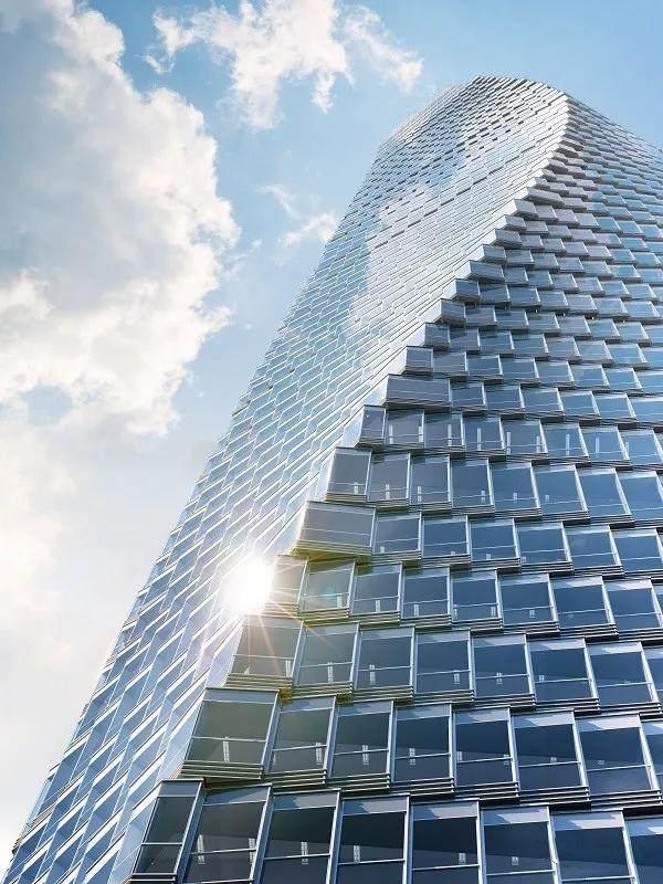 青岛第一高楼——青岛海天中心结构封顶,建築呈现'六边形'設計-8.jpg