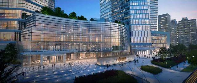 青岛第一高楼——青岛海天中心结构封顶,建築呈现'六边形'設計-10.jpg