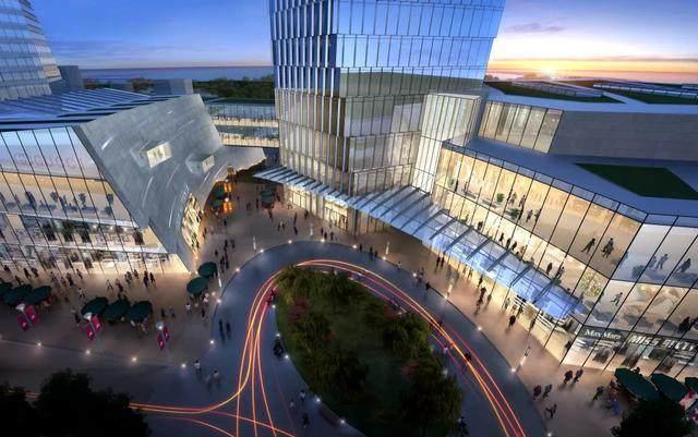 青岛第一高楼——青岛海天中心结构封顶,建築呈现'六边形'設計-12.jpg