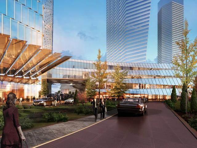 青岛第一高楼——青岛海天中心结构封顶,建築呈现'六边形'設計-13.jpg