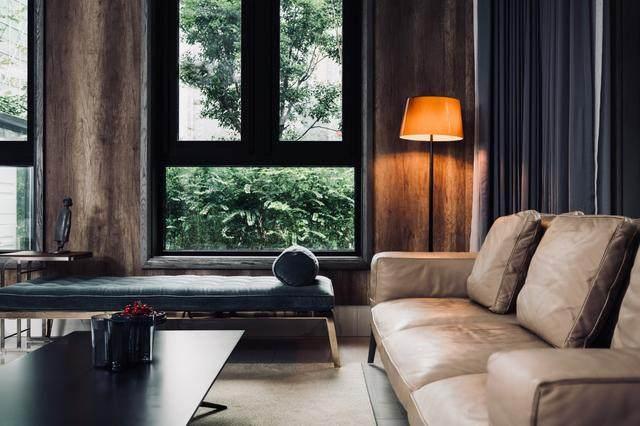 300㎡灰调原木风私宅,简洁质朴惹人爱 尚层软装设计-5.jpg