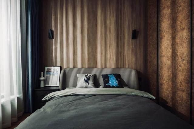 300㎡灰调原木风私宅,简洁质朴惹人爱 尚层软装设计-25.jpg