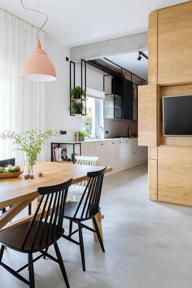明亮简约的中世纪现代主义公寓,复古优雅的居住空间空间-7.jpg