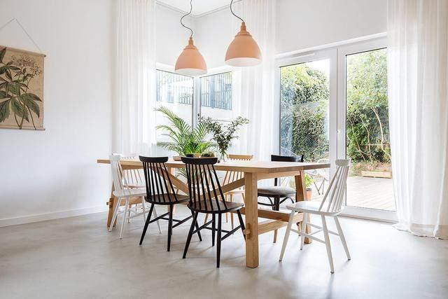 明亮简约的中世纪现代主义公寓,复古优雅的居住空间空间-6.jpg