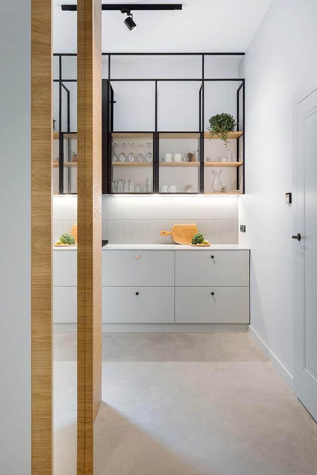明亮简约的中世纪现代主义公寓,复古优雅的居住空间空间-12.jpg