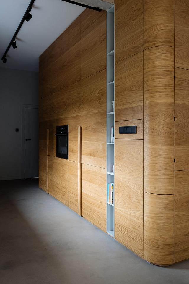 明亮简约的中世纪现代主义公寓,复古优雅的居住空间空间-13.jpg