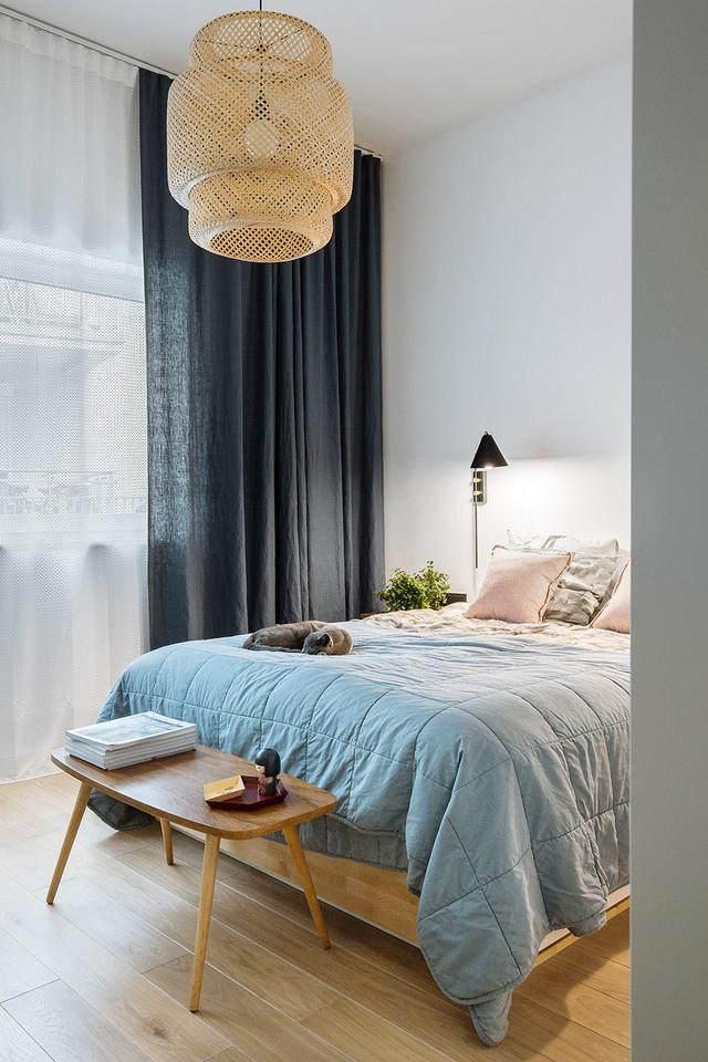 明亮简约的中世纪现代主义公寓,复古优雅的居住空间空间-17.jpg