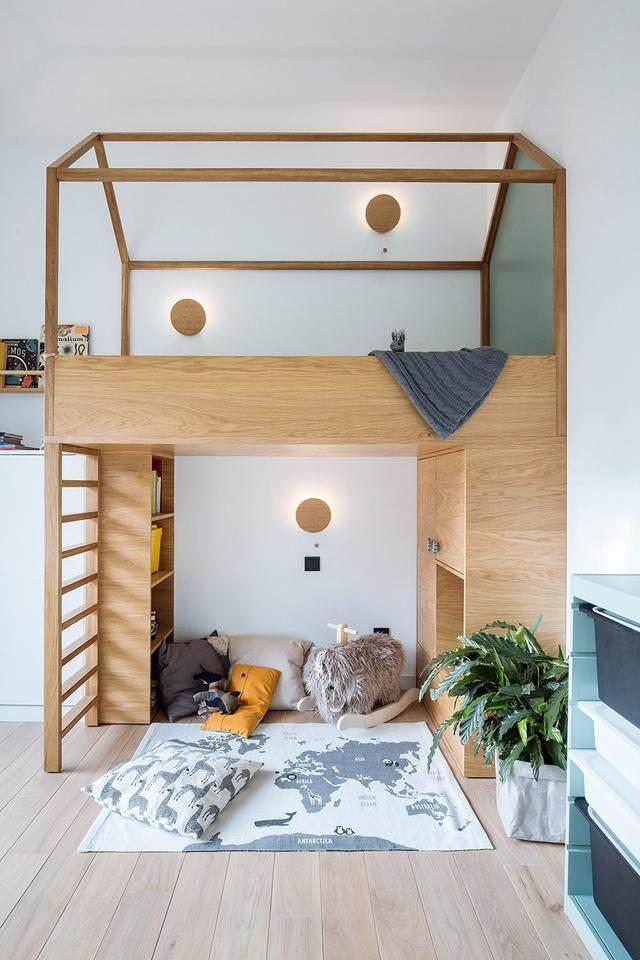 明亮简约的中世纪现代主义公寓,复古优雅的居住空间空间-21.jpg
