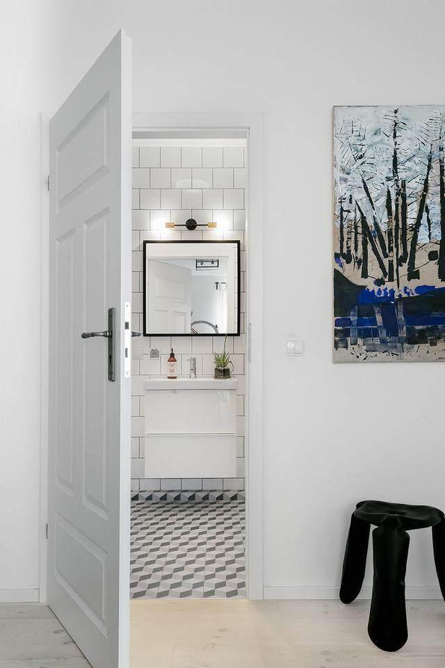 明亮简约的中世纪现代主义公寓,复古优雅的居住空间空间-32.jpg