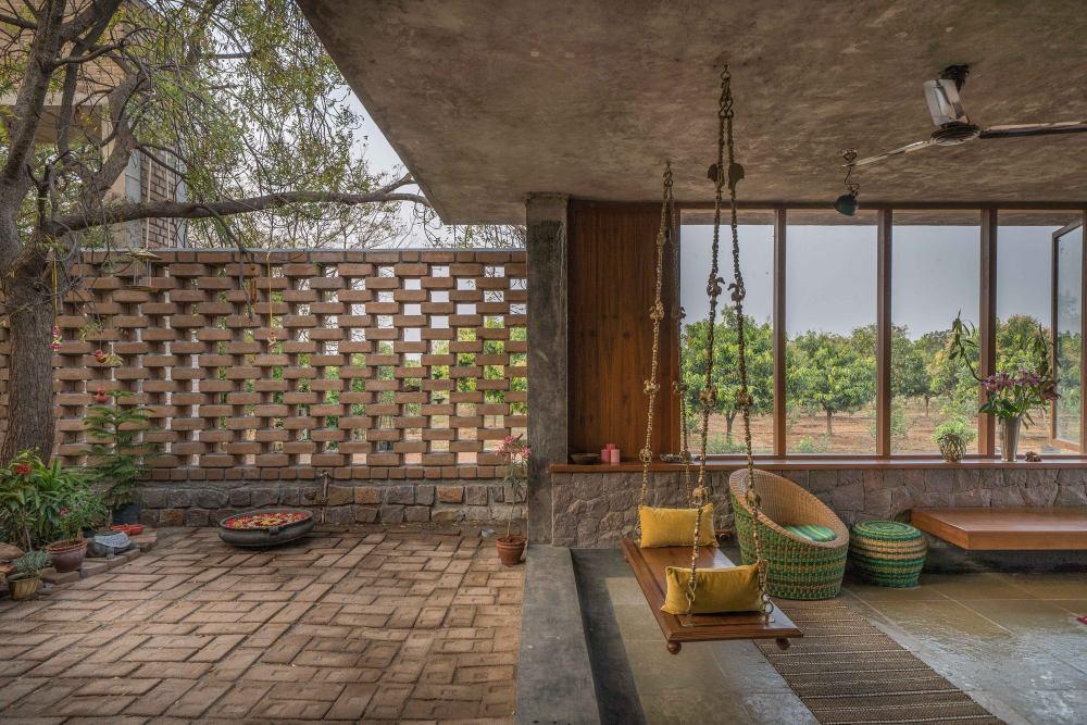 印度农村里的房子(2019)(Studio Inscape)设计