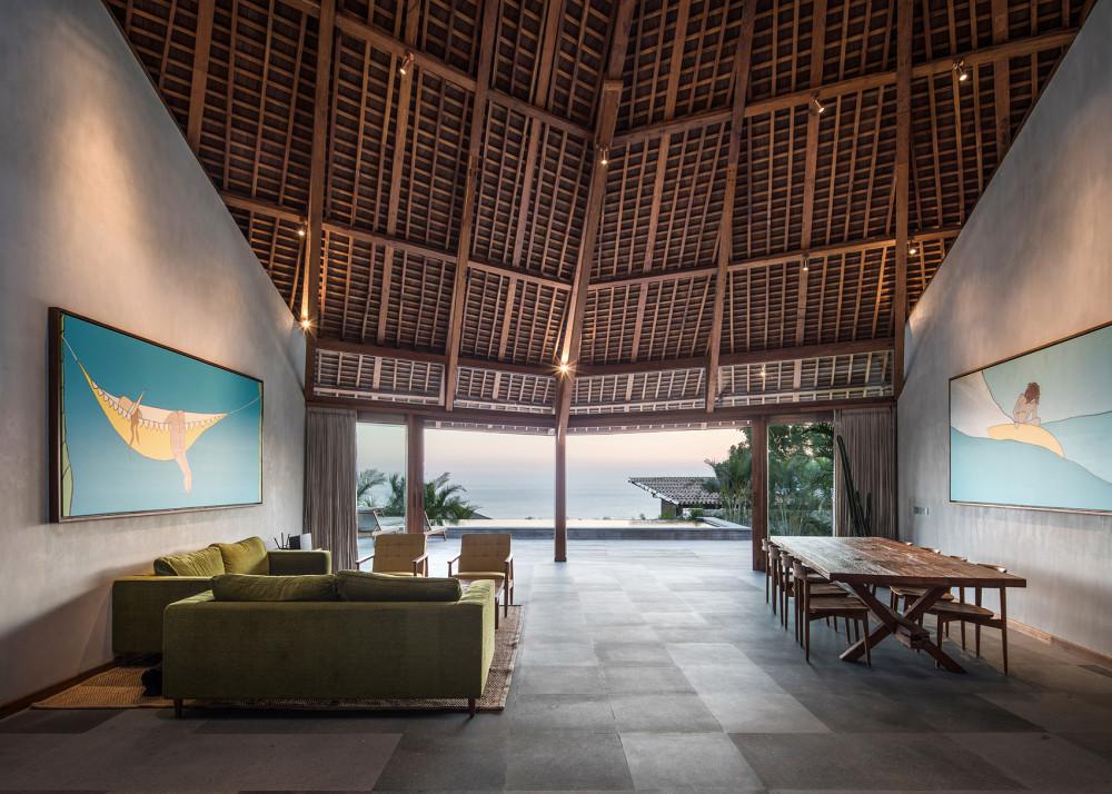 Puri Bukit海景别墅,巴厘岛 / Alexis Dornier