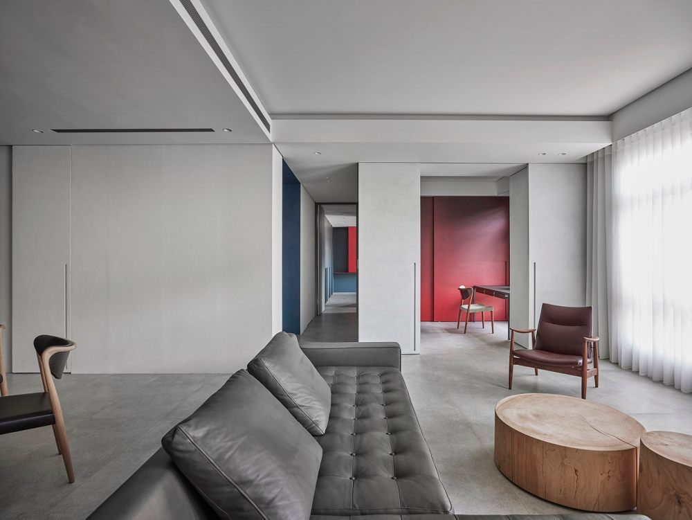 几何原色 – 住宅室内设计,台湾 | 水相设计