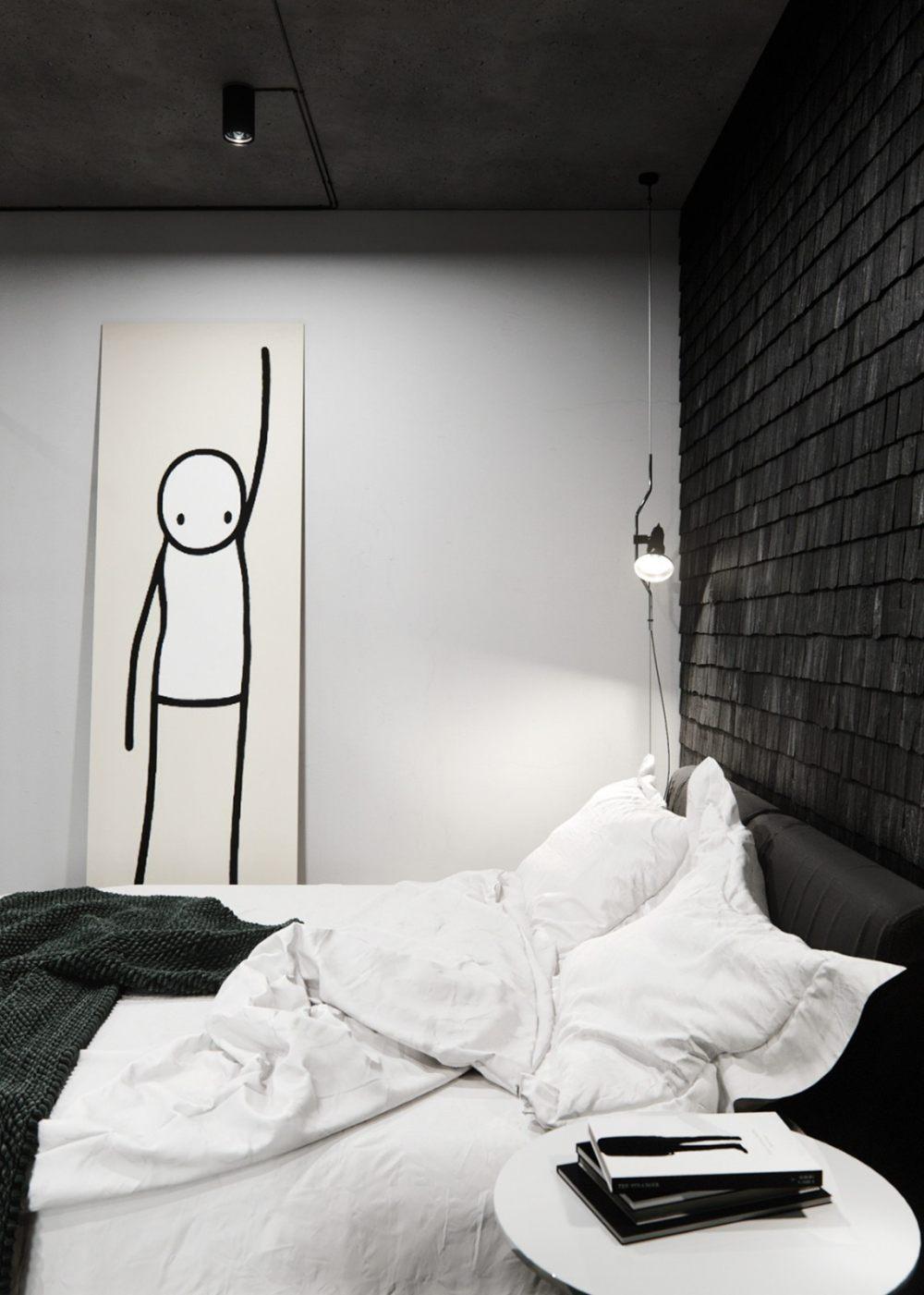 50㎡   年轻人单身公寓,真酷!  实景图+平面图   20P_50㎡年轻人单身公寓,真酷!13.jpg