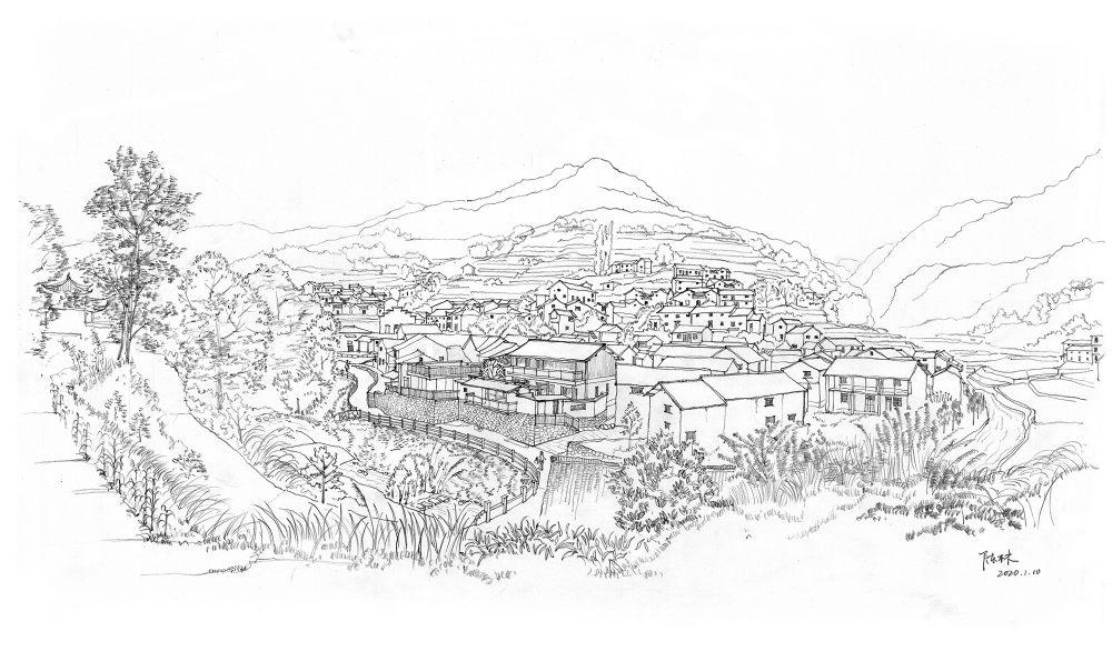 55.手绘民宿全景Hand-drawn_residences_panorama.jpg