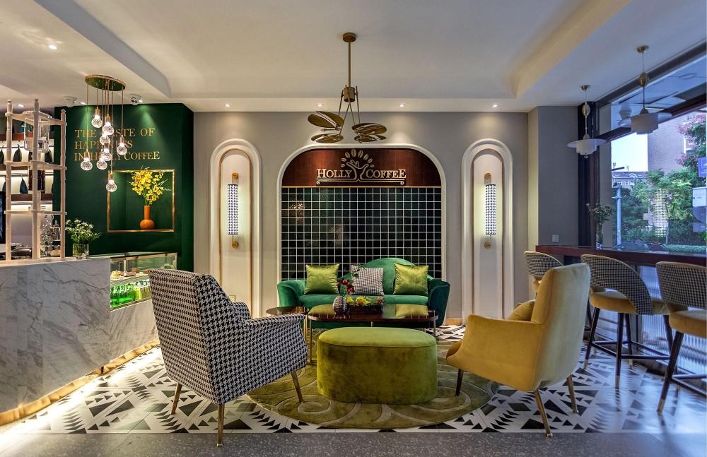 06-休闲区,墨绿色,黑与白,亮黄色形成鲜明的色彩对比Recreationarea,darkgreen,blackandwhite,brightyellowcontrast.jpg