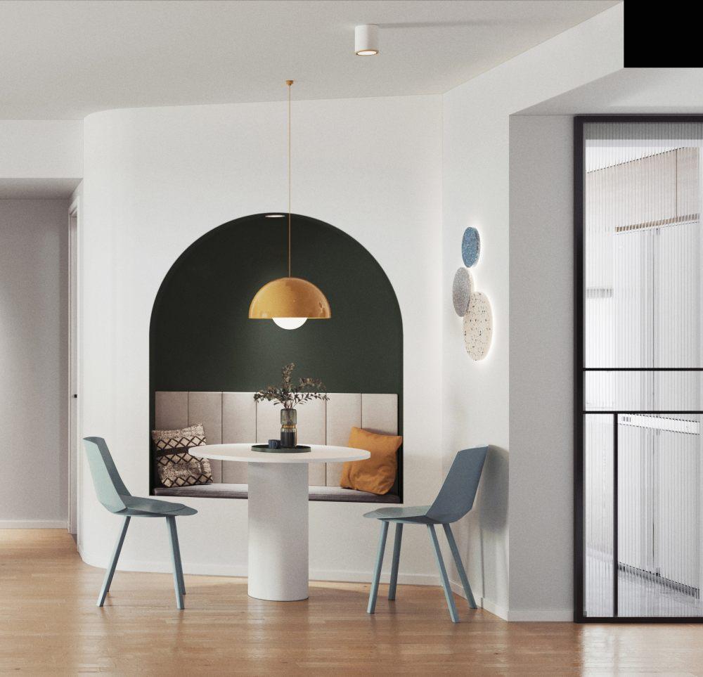 胶卷绿 空间 室内设计