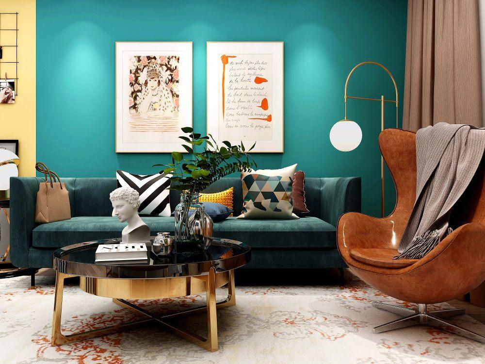 水鸭绿:现代轻奢的精致气息