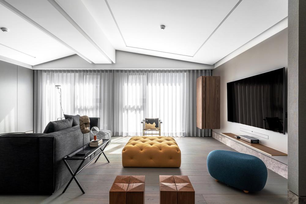 """""""嬉皮绅士""""公寓室内设计2.jpg"""