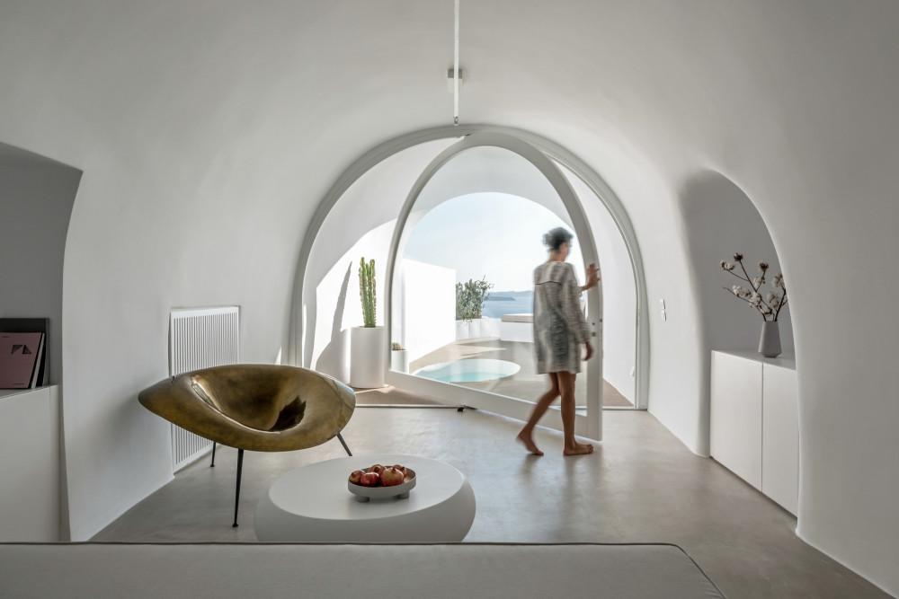 圣托里尼岛圣克(SAINT HOTEL)酒店-Kapsimalis Architects(超高清)