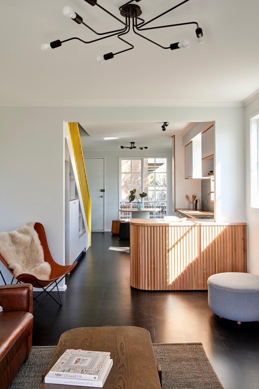 90年代联排别墅改造成明亮而温馨的家 | Circle.Studio