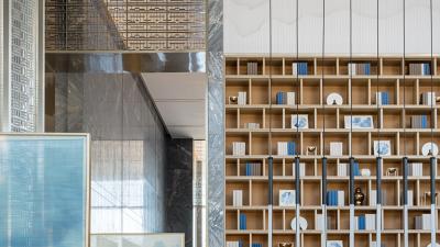 矩阵纵横Matrix-华润滨江万象天地售楼处设计丨设计方案+效果图+施工图+物料书+摄影 |