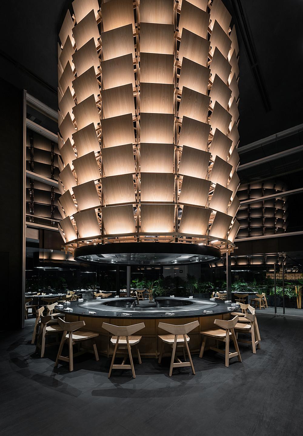 Tori_Tori 圣达菲餐厅 Restaurant Tori Tori Santa Fe / Esrawe Studio