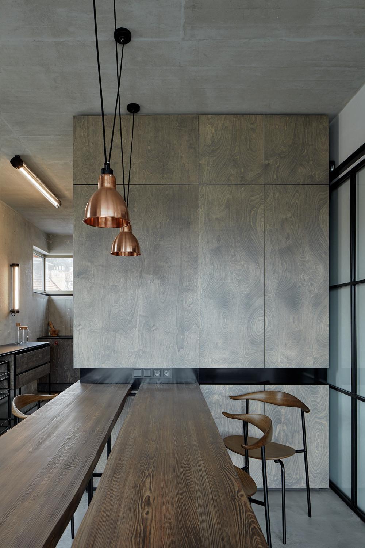 赫尔本基公寓 Loft Hrebenky / Studio Formafatal