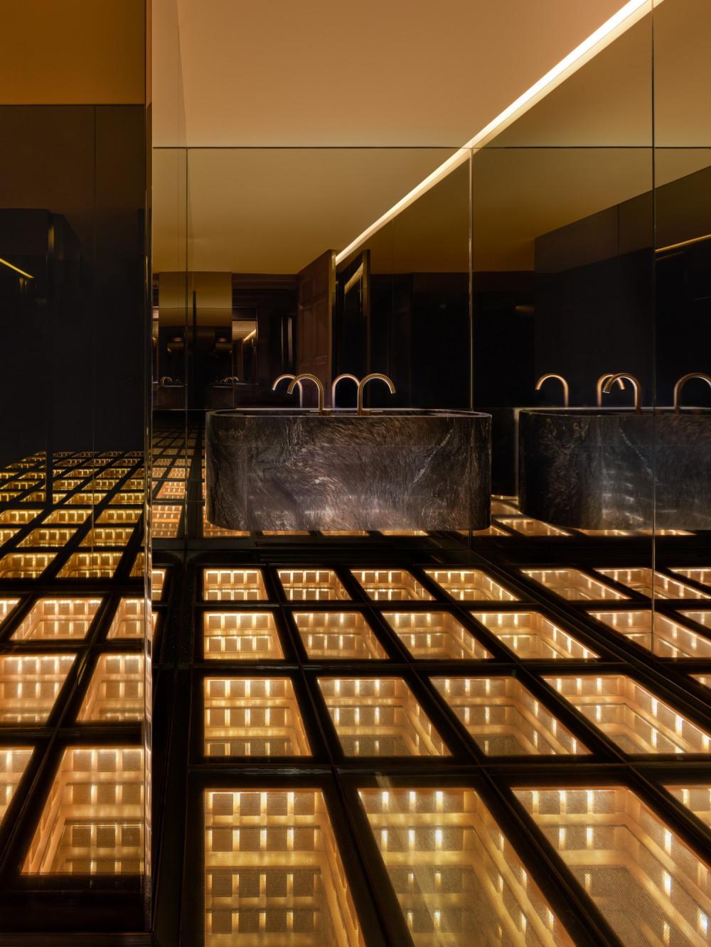 迪拜秘密時空酒吧(The Secret Room)Paolo Ferrari 設計