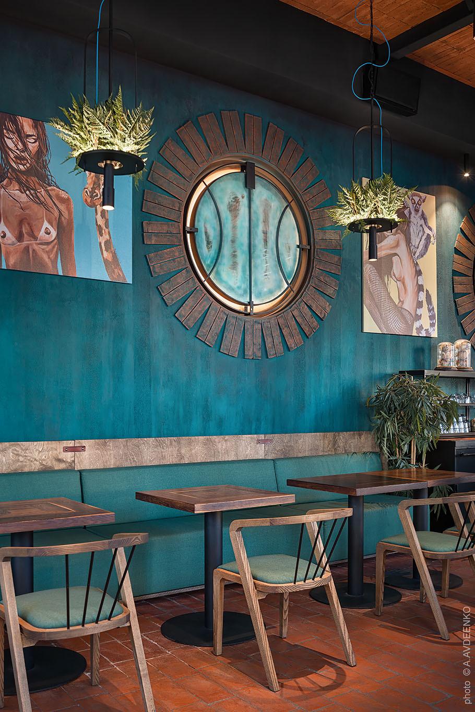 基輔丸岡餐廳(Marokana Restaurant in Kyiv)loft buro 設計