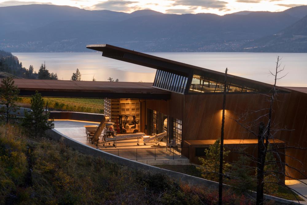 Olson Kundig 设计 | 马丁巷酿酒厂(Martin's Lane Winery)
