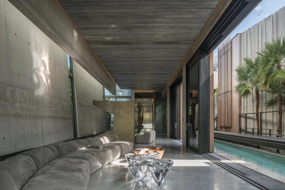 Rene Gonzalez 設計 | 草原大道公寓(Prairie Avenue Residence)