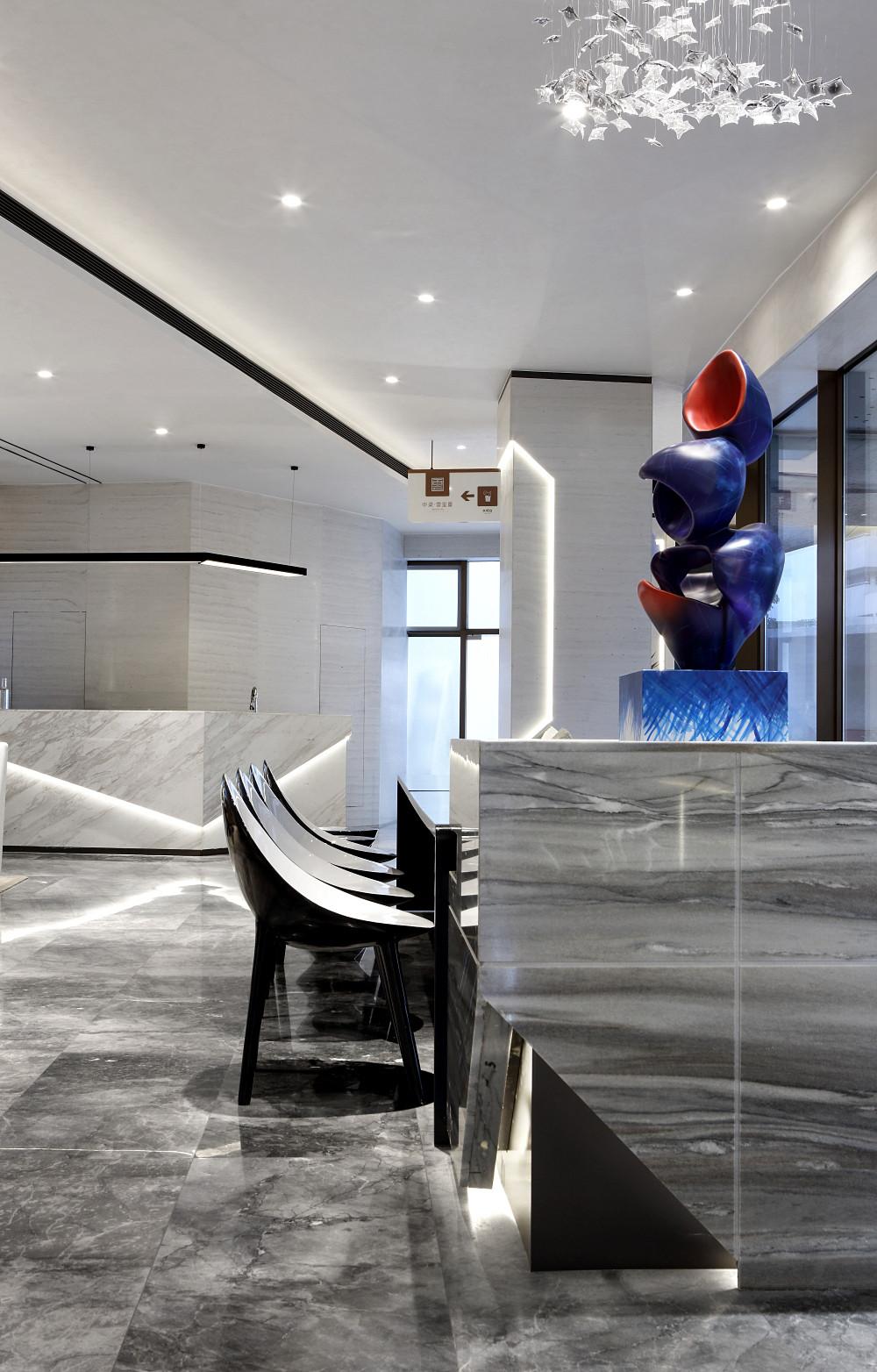 空间[折]学 - 中梁成都云玺台售楼处 | 创库&几朵设计