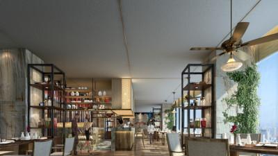 CCD | 深圳龙华逸林希尔顿酒店 | 设计方案+效果图+施工图+物料 |