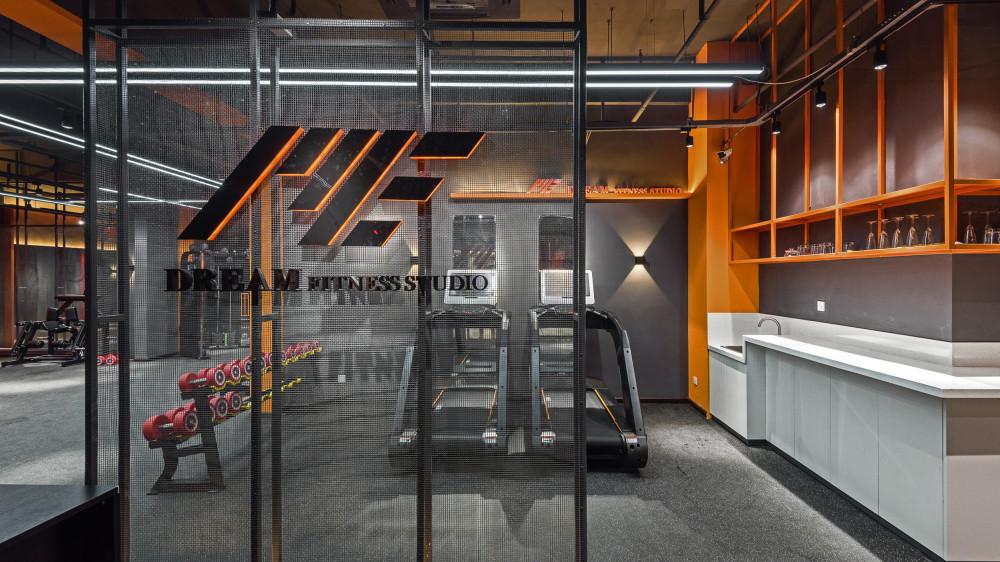 巢羽设计CHAO | ME+梦想健身私教工作室丨PPT方案+效果图视频+施工图+SU精细模型+实景