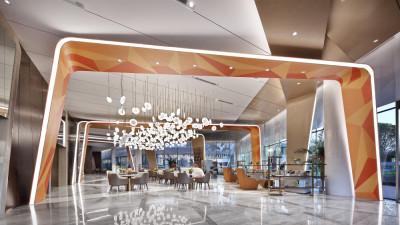 点石亚洲 | 昆明佳兆业城市广场营销中心 | 施工图+效果图+物料清单+设计方案