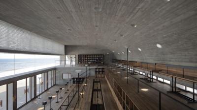 直向建筑丨三联书店海边公益图书馆 | 施工图+概念方案+高清照片+视频 |
