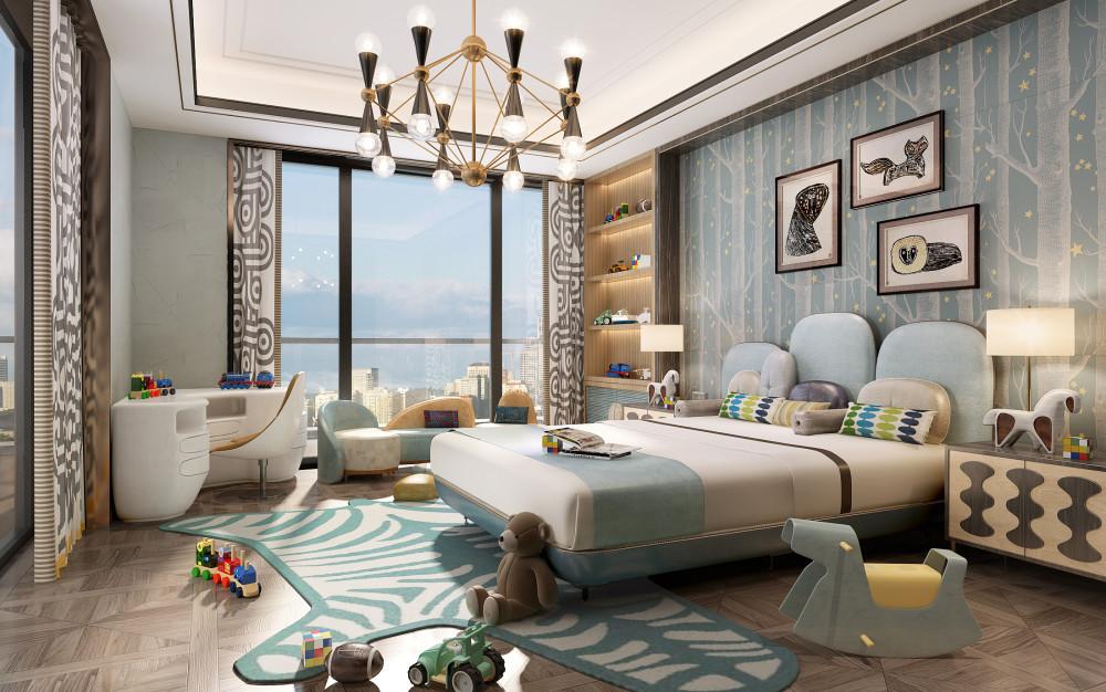 HWCD | 上海汤臣一品复式豪宅丨PPT方案+效果图+全套施工图CAD+照明方案·报价