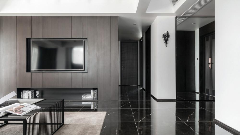 缪茹设计 | 黑&白 | 施工图 实景图